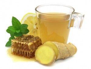 Jengibre y miel