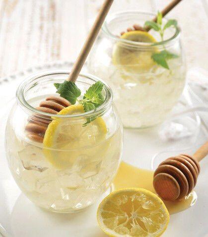 Limonada con miel