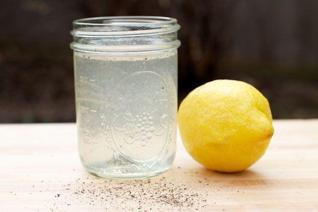 Limonada con pimienta